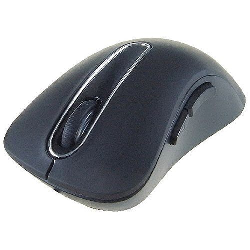 Computer Gear Wireless 5-Button Optical Scroll Mouse Black 24-0544