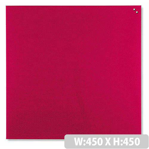 Franken Glass Magnetic Board 450x540mm Red GT454501