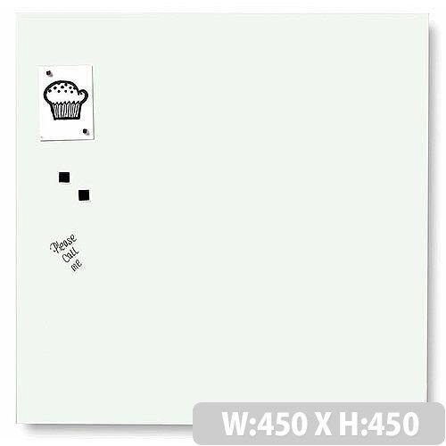 Franken Glass Magnetic Board 450x450mm White GT454509