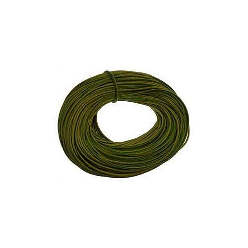 3mm Green &Yellow Earth Sleeve 100m reel