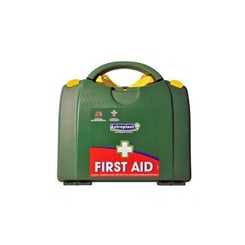 Green Box HSA 26-50 Person First Aid Kit Incl. Eyewash &Burns