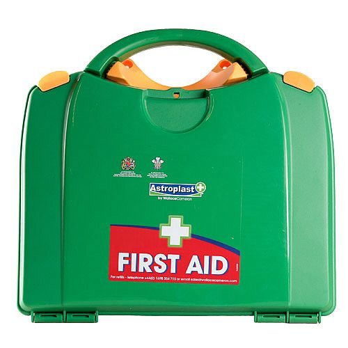 Astroplast Green Box HSA 11-25 Person First Aid Kit Incl. Eyewash &Burns F/H