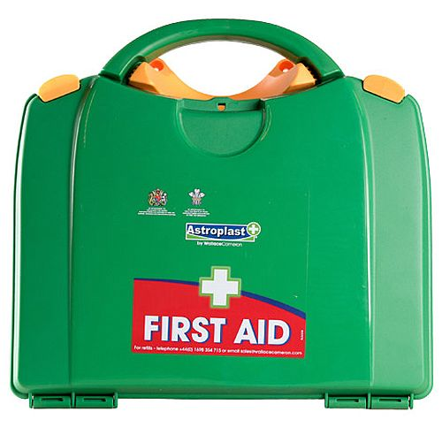 Astroplast Green Box HSA 26-50 Person First Aid Kit Incl. Eyewash &Burns F/H
