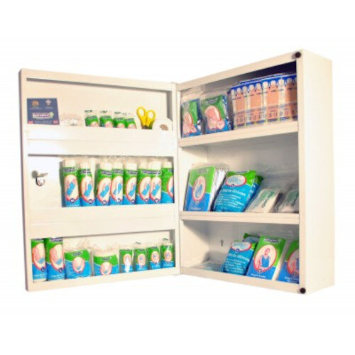 First Aid Box Cabinet HSA 26-50 Person 1002553