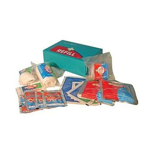 Medium Burns Blue Box First Aid Kit Refill 1009007