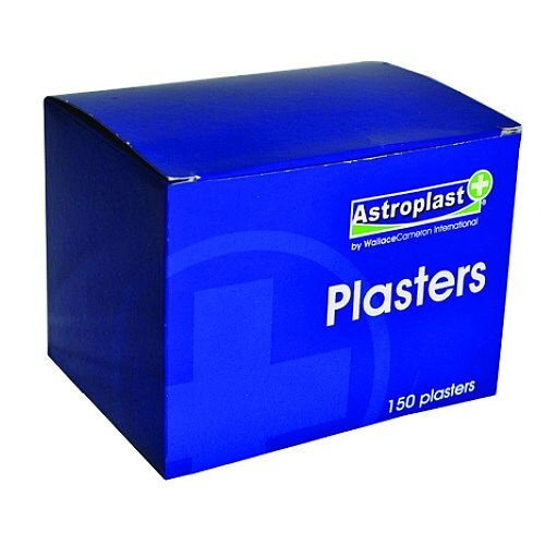 Astroplast Hypoallergenic Plasters Washproof 7.2cm x 2.5cm Box 150 1211015