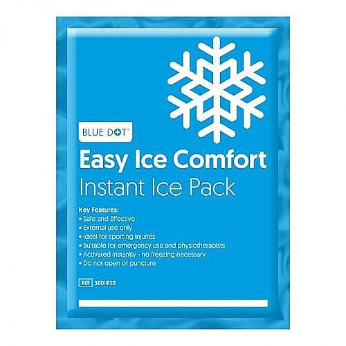 Blue Dot Instant Ice Pack Multilingual (24) Box 9987