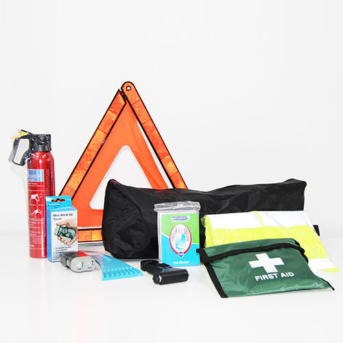 Advanced Car Safety Kit &600g Fire Extinguisher