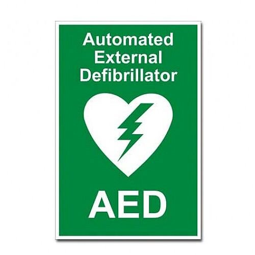 Automated External Defibrillator AED Sign 4255000
