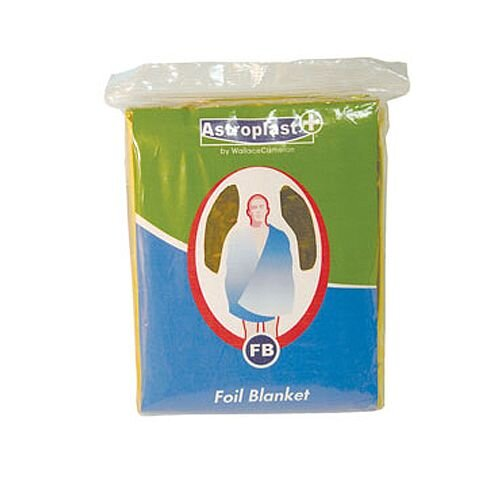 First Aid Astroplast Emergency Foil Blankets Pack of 10 4803010
