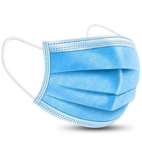 Surgical Style Face Mask Pack of 50 - 3 Ply Disposable Face Masks