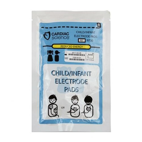 Cardiac Science Powerheart G3 Paediatric Pads Defibrillation Electrodes