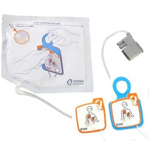 Cardiac Science Powerheart G5 AED Intellisense Pediatric Defibrillation Electrode Pads 5001132