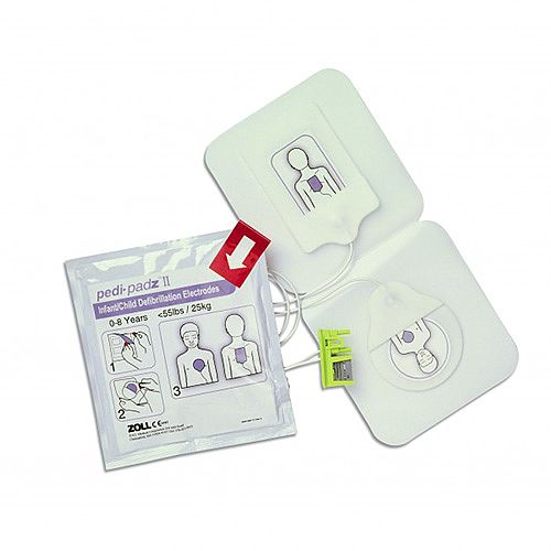 ZOLL AED Pedi-Padz II Child/Paediatric Pads Defibrillation Electrodes