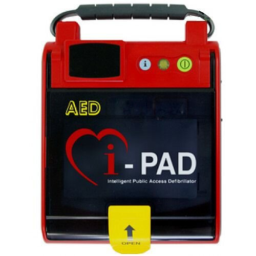 CU Medical Systems iPAD Saver NF1200 Fully Automatic Defibrillator - Rugged, Durable Design with Easy Grip Integrated Handle - Can be Used by Minimally Trained Individuals