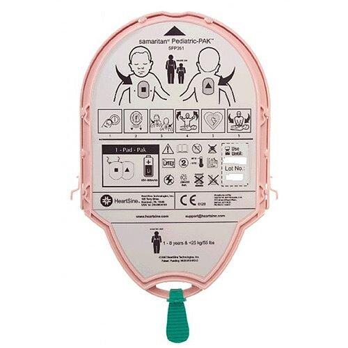 HeartSine Samaritan PAD PAK 04 Battery &Paediatric Electrode Pads