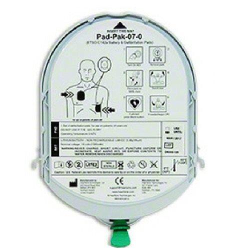HeartSine Samaritan PAD PAK 07 eTSO Certified Adult Battery &Electrode Pads