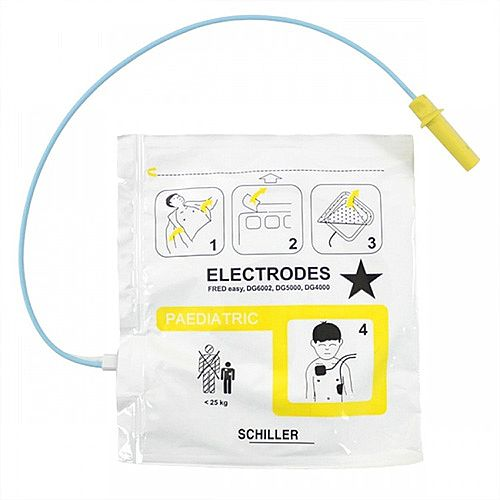 Schiller FRED Easy and EasyLife Paediatric Defibrillation Electrode Pads