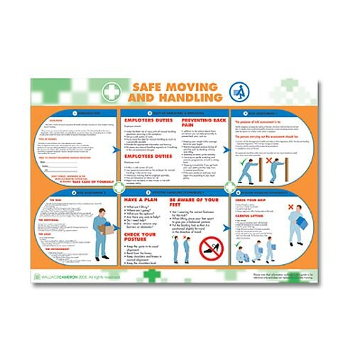 Safe Moving &Handling Poster HA5405028