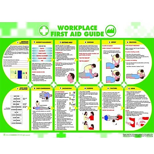 Workplace First Aid Poster A5405031