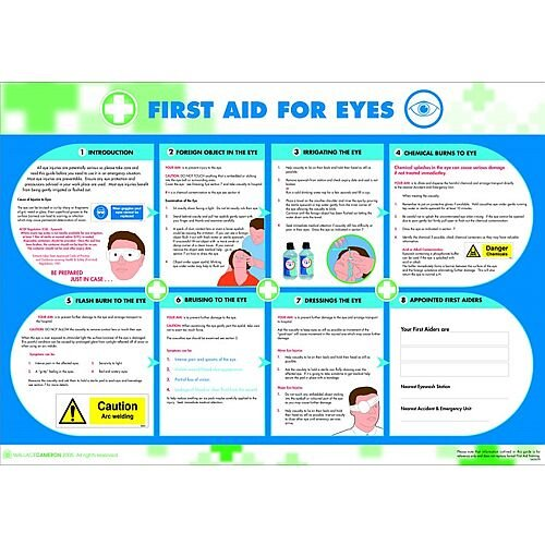 First Aid For Eyes Poster 5405039