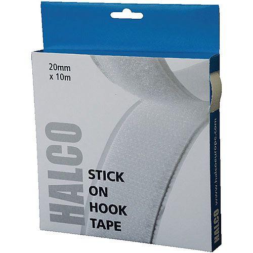 Halco Stick On Hook Roll 20mm x 10m