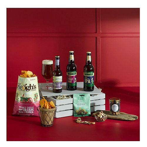 Irish Craft Beer &Snacks Gift Crate