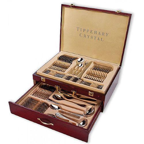 Tipperary Crystal Elegance 72 Piece Cutlery Set