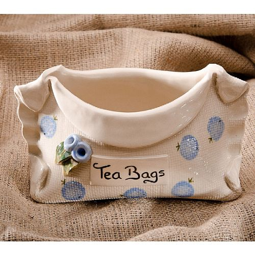 Stable Door Irish Pottery Ceramic Used Tea Bag Holder
