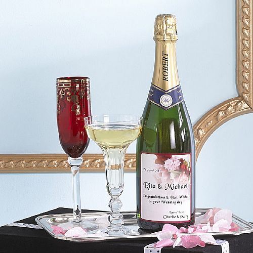Personalised Champagne Gift