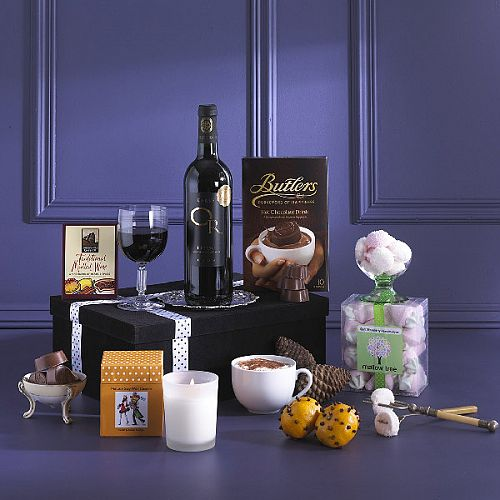 The Little Box Of Fireside Luxuries - Gift Box