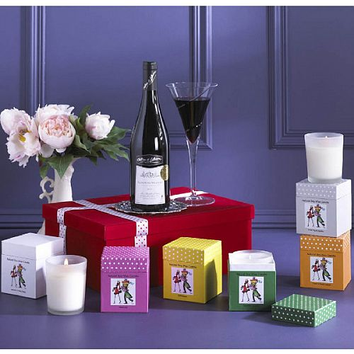 The Wine & Candles Gift Box