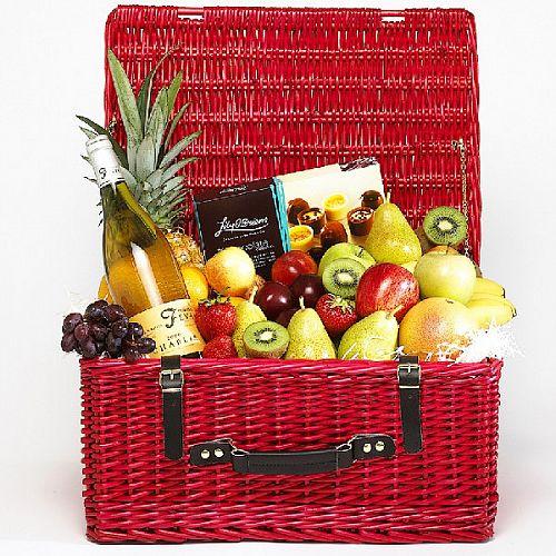 Fruit, Wine &Chocolate Hamper