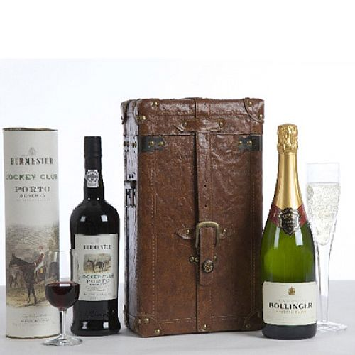 Champagne &Port Duo Gift