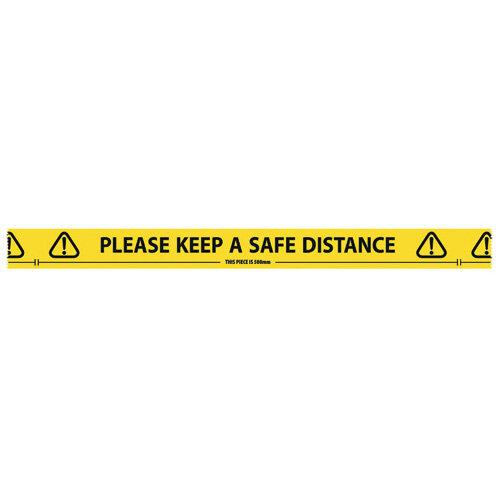 Social Distancing Floor Tape Roll 33m x 48mm 4833YB