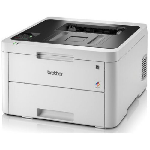 Brother HL-L3230CDW Colour Laser Printer 2400dpi (600x2400 A4, Wi-Fi, 250 sheets, 18ppm, iPrint&can, Google Cloud Print 2.0, Apple Airprint, Mopria, Web Connect