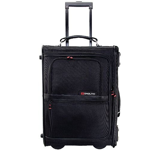 Monolith Upright Pilot Case Nylon Black Briefcase 2383
