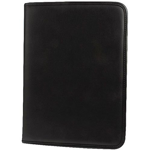 Monolith Conference Folder with Pad Clip A4 Black 2926