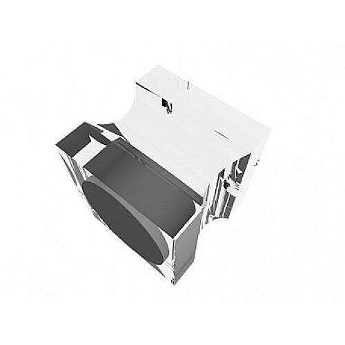 Franken Neodymium Stamp Magnets Acrylic Transparent 20x20x20mm HMAS20