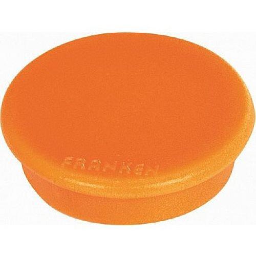 Franken MagFun Tacking Magnets Round 32mm Orange Pack of 10 HML30 05
