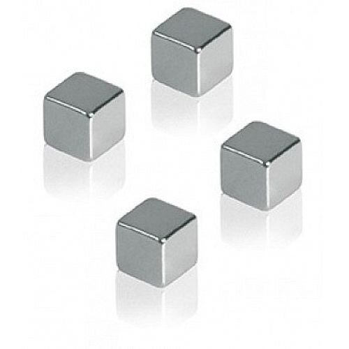 Franken Neodymium Cube Magnets 10x10x10mm Pack of 4 HMN1010