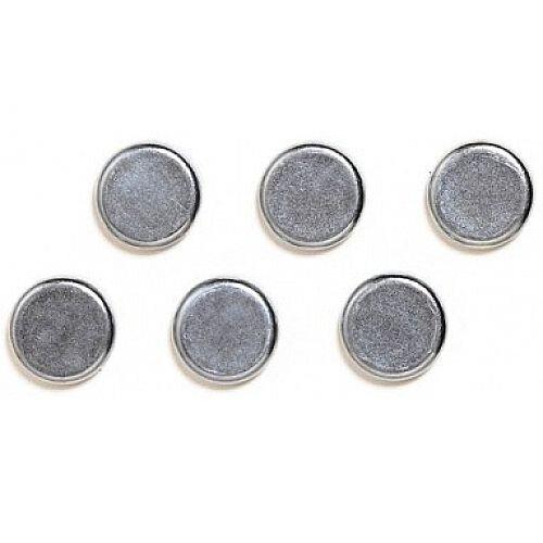 Franken Chrome Magnets Round 10mm Pack of 6 HMS13