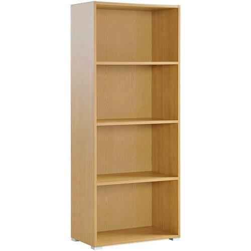 Tall Bookcase Beech HOTBCB