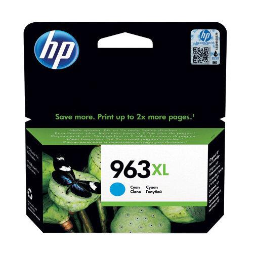 HP 963XL Original Ink Cartridge HY Cyan Capacity: 1600 pages 3JA27AE