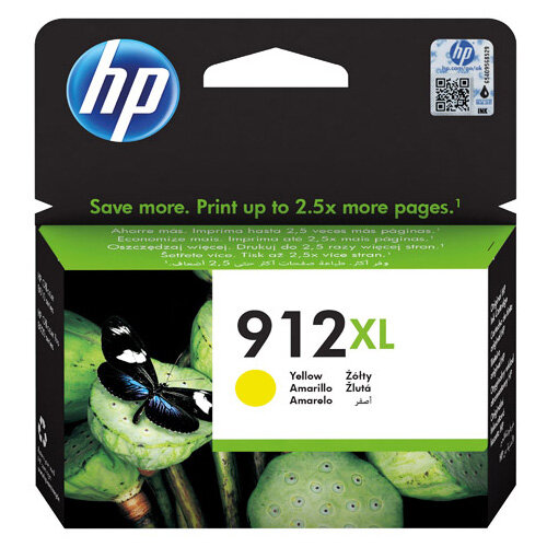 HP 912XL High Yield Ink Cartridge Yellow 9.9ml 3YL83AE