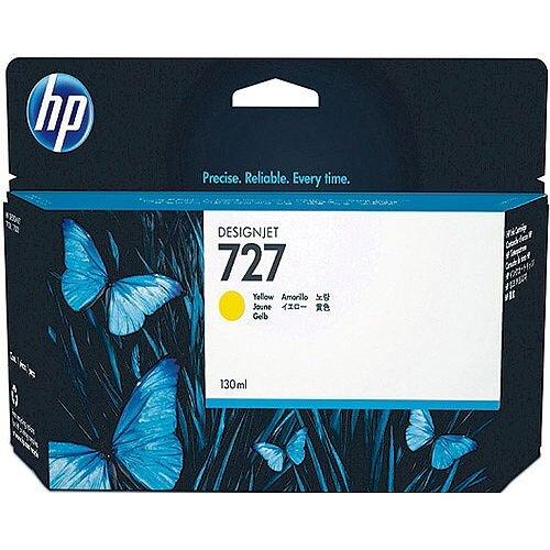 HP 727 130Ml Ink Cartridge Yellow B3P2