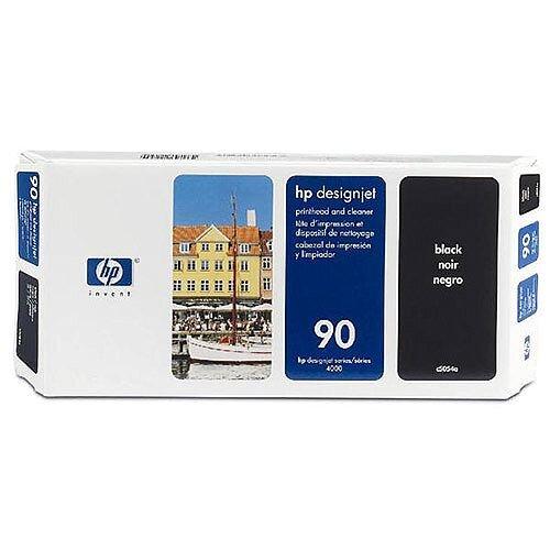 Hewlett Packard No 90 Black Printhead/Cleaner C5054A