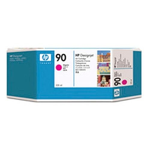 Hewlett Packard No90 Inkjet Cartridge 225ml Magenta C5062A