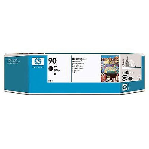 Hewlett Packard No90 Triple Pack Inkjet Cartridge Black C5095A