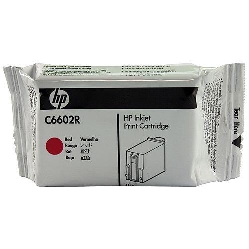 HP C6602R 1.0 EPOS Red Inkjet Print Cartridge C6602R